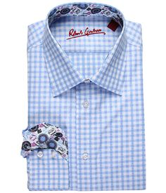 Another Robert Graham Jeremy Dress Shirt Blue - For the same price or less you could completely customize your own shirt from J Hilburn! And the shirt will be built to you measurements. And prices start at $89