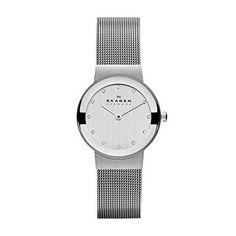 463426ae4 12 best watches images   Skagen watches, Bracelet watch, Mesh bracelet