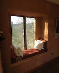 Image result for straw bale window seat