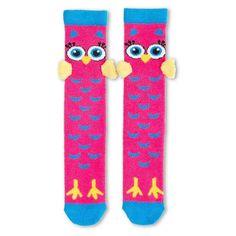 Girls 4-16 3D Animal Knee-High Socks, Girl's, Size: 6-8 1/2,