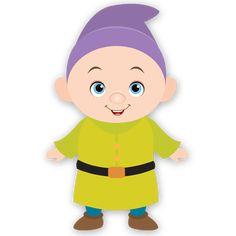 Cartoon Pics, Cartoon Characters, Snow White Seven Dwarfs, Owl Classroom, Snow White Birthday, Custom Cupcakes, Disney Dolls, Bunting Banner, 3rd Birthday