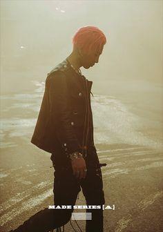 BIGBANG(ビッグバン)G-DRAGON(クォン・ジヨン)、T.O.P(チェ・スンヒョン) TAEYANG(SOL:テヤン:トン・ヨンベ)、DAESUNG(テソン:D-LITE)、スンリ(V.I:SEUNGRI) genie - BIGBANG MADE SERIES「A」PHOTO
