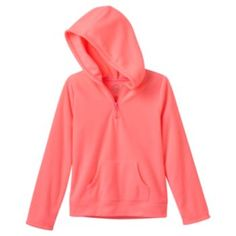 SO Zip-Front Microfleece Hoodie  - Girls 7-16