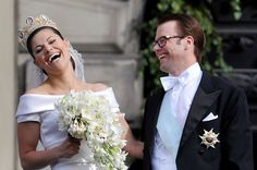 Swedish Crown Princess Victoria and Daniel Westling.