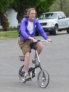 Lowell Guy with Strida