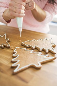 Royal Icing Christmas Inspiration, Food Inspiration, How To Make Gingerbread, Sugar Cookie Icing, Something Sweet, Christmas Home, Christmas Ideas, Royal Icing, Mind Blown