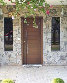 Home Door Design, House Gate Design, Door Gate Design, Door Design Interior, Main Door Design, House Front Design, Small House Design, House Front Door, House Doors