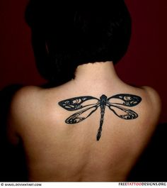 dragonfly tattoo I love love love this one!