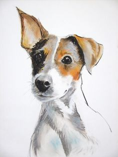 Jack Russell Terriers Print 10x8 In The Lineup