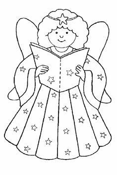 Ζωγραφιές με Χριστουγεννιάτικα αγγελάκια   Larissakid-Ζωγραφιές.gr - Τα πάντα για το παιδί στη Λάρισα