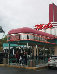 Mel's Diner in Fort Myers, Florida. Great food and atmosphere (50's).