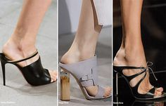 Spring/ Summer 2016 Shoe Trends: Mules #shoes #trends #SS16