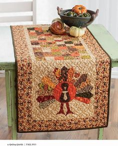 Quilt Inspiration: Free pattern day ! Thanksgiving