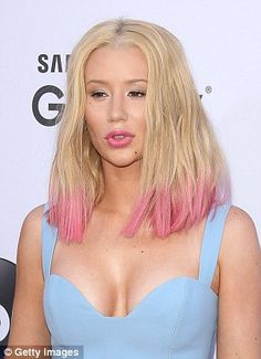 Post-surgery: Iggy (pictured in 2015) has openly spoken about making changes to her appearance in the past and has admitted to undergoing a nose job and breast augmentation