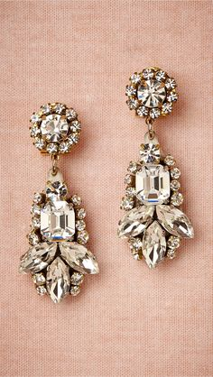 1950s Inspired Bridal Earrings by Radà