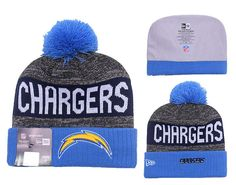 834e8f8578f64b Men's / Women's San Diego Chargers New Era NFL 2016 Sideline Sprots Knit  Pom Pom Beanie Hat - Blue / Grey / Navy