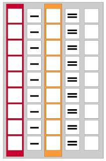 comuniCAAzione: Graglie manipolative per addizioni e sottrazioni Counting, Locker Storage, Education, Studying, Autism, School Supplies, School, Preschool, Print Templates