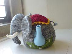 ❇Crochet Tea Cosies,  Coffee and Tea Cup and Mug Snugs and HugsA fabulous elephant - I LOVE this pattern!