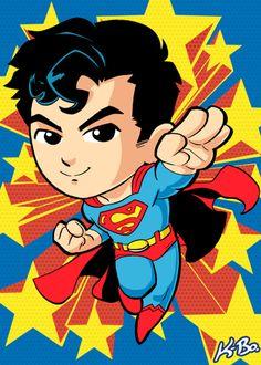 Superman Art Card by K-Bo. by kevinbolk on @DeviantArt