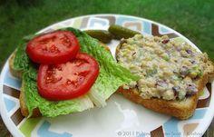 """Chickpea of the Sea"" Salad Sandwiches | Food Krishna.com"