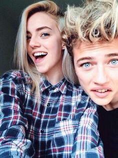 Pyper America and Lucky Blue