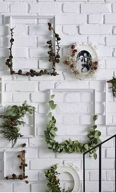 ikea ideen – Create an Elegant Statement with a White Brick Wall Design Ideas – Ideen Dekorieren Mur Diy, Diy Love, White Brick Walls, White Bricks, Deco Floral, Diy Décoration, Easy Diy, Easy Home Decor, Unique Decorations For Home