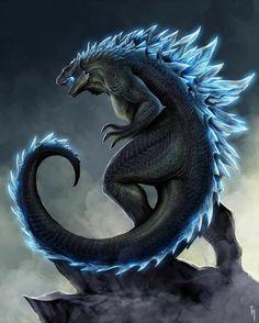 All Godzilla Monsters, Godzilla Comics, Godzilla Godzilla, Mythical Creatures Art, Fantasy Creatures, Drake, Godzilla Tattoo, Godzilla Birthday, King Kong Vs Godzilla