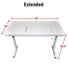 Arrow 98611 Gidget II Folding Sewing Machine and Craft Table Folding Sewing Table, Sewing Machine Tables, Sewing Cabinet, Quilting Frames, Diy Kleidung, Plywood Furniture, Furniture Design, Asian Furniture, Contemporary Furniture