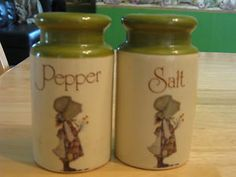 Adorable Holly Hobbie salt and pepper shakers