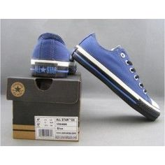 Converse Outlet All Star Chuck Taylor Canvas Low tops Blue