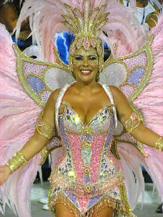 Beautiful Women Female Unidos da Tijuca Carnaval 2013 Desfile Sambódromo Rio de Janeiro Carnival Carioca Brazil Brasil samba Marquês de Sapucaí