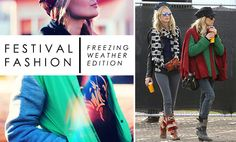 How to stay cosy even at an Irish Festival! http://blog.opsh.com/ask-the-stylist-what-to-wear-to-a-festival-when-its-cold/