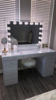 Cute Bedroom Decor, Room Design Bedroom, Bedroom Decor For Teen Girls, Teen Room Decor, Room Ideas Bedroom, Pinterest Room Decor, Beauty Room Decor, Aesthetic Room Decor, Cozy Room
