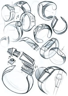 Product Sketches by Sebastian Markovic, via Behance #id #product #sketch