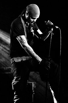 Niklas Kvarforth, Swedish black metal band Shining.