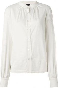 Joseph Mandarin Collar Shirt https://modasto.com/joseph/kadin-ust-giyim-gomlek-bluz/br3221ct4