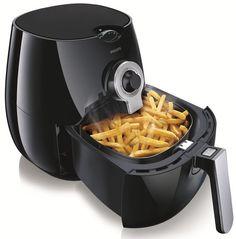 Philips Viva Airfryer Multicooker w/ Rapid Air Technology Low Fat Fryer Cooking Gadgets, Kitchen Gadgets, Kitchen Appliances, Kitchen Tools, Low Fat Fryer, Philips Air Fryer, Air Fryer Review, Best Air Fryers, Cocinas Kitchen