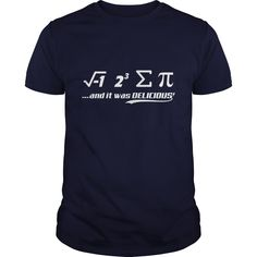 PI IT WAS DELICIOUS T Shirts ==> You want it? #Click_the_image_to_shopping_now