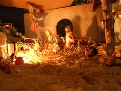 Face Book, Christmas Nativity, Cheers, It Cast, Scene, Display, Friends, Books, Painting