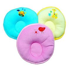 Product review for Random Color Cartoon Pattern Design Baby Positioner Pillow for sleep , Prevent Flat Head With Super Comfortable and cotton Newborn Protective Sleeping Pillow.  - Eonkoo has been one professional Baby Pillow Store for over 10 years, we supply various kinds of pillow,if you want something please just tell me.It is a perfect choice to choose our store.We always commited to supply high-quality Safety & Comfort products. This pillow is safe soft and....  C