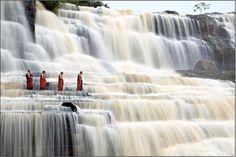 Magical waterfall...