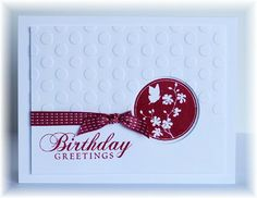 Scrappin' and Stampin' in GJ: July 2012    raspberry ripple and white