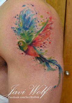 Seven Fantastic Vacation Ideas For Cool Tiny Tattoos Dad Tattoos, Future Tattoos, Small Tattoos, Cool Tattoos, Tatoos, Vacation Ideas, Quetzal Tattoo, Javi Wolf, Bird Shoulder Tattoos