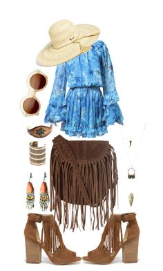 Boho by kim1245 on Polyvore featuring Chinese Laundry, Glamorous, MANGO, Charlotte Russe, Rip Curl and ZeroUV