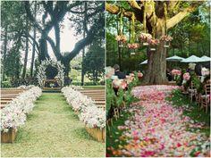 10 ideias de passadeira para Cerim�nia de Casamento | http://blogdamariafernanda.com/10-ideias-para-cerimonia-de-casamento