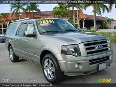 Vapor Silver Metallic - 2008 Ford Expedition EL Limited 4x4 ...