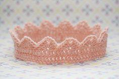 Princess crown #crochet #free #pattern