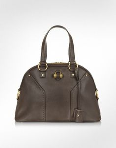 Yves Saint Laurent Muse - Large Leather Tote Bag