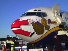 Santa Claus's Jet Accident