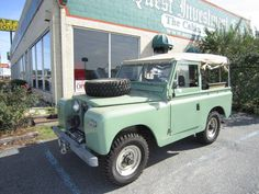 1968 Land Rover Series 2A for sale #1791538 - Hemmings Motor News